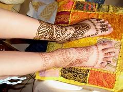 henna -foot and ankle design (april-mo) Tags: france henna bodyart mehndi hennatattoo henné tatouageauhenné footandlegdesign