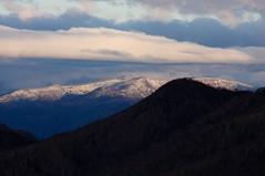 漁岳は冬景色