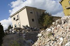 earthquake (Abruzzo, Italy) (AMURT Italia) Tags: italy earthquake italia donation reconstruction abruzzo donazione laquila terremoto ricostruzione photoerbertozani amurtitalia wwwamurtit