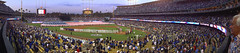National Anthem Panorama (Culture Shlock) Tags: baseball sony playoffs dodgers nlds cardinals dodgerstadium stlouiscardinals losangelesdodgers chavezravine majorleaguebaseball nationalleaguedivisionseries canon40d wx1