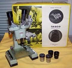 Vintage Tasco Stereo Microscope
