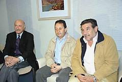 Celso Jaque está en La Rioja hablando de vitivinicultura