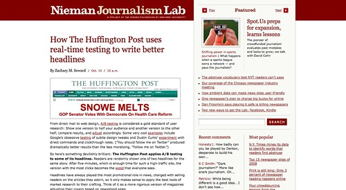 How The Huffington Post uses real-time testing to write better headlines » Nieman Journalism Lab_1255791433298