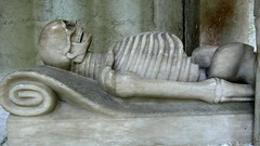 Gisant, George Shirley tomb - Breedon-on-the-Hill