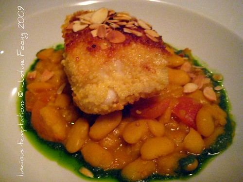 Coucous Baked Monkfish - St Germain, Farringdon
