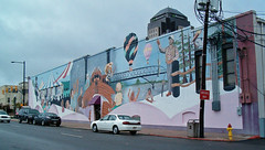mural, downtown Shreveport