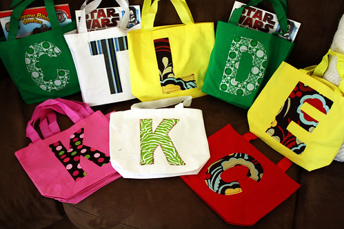 Monogrammed Gift Tote Bags