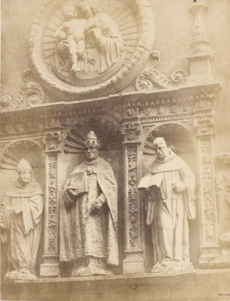 Convento de San Clemente en 1853. Fotografía de Charles Clifford. © Victoria and Albert Museum, London