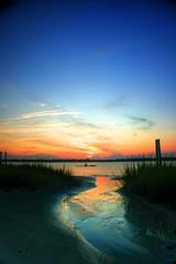 Kayak Sunset (Drasdax) Tags: hdrphotography flickrchallengegroup flickrchallengewinner