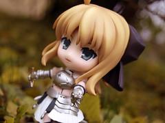 Saber Lily Photoshoot (alindholm) Tags: game anime fall japan photo sweden figure figurine sundsvall timrå goodsmile nendoroid saberlily