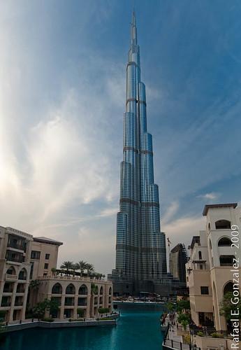 Burj Dubai Pano - From The Palace Hotel