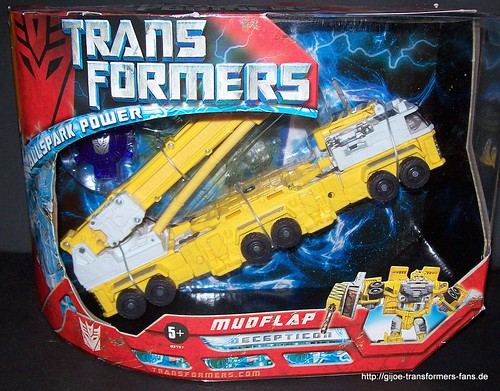 Mudflap Movie-2007  Voyager Transformers  001