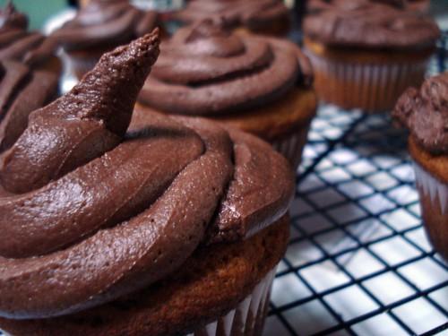 Gluten-free, vegan cupcakes