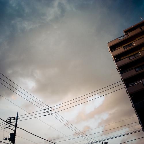 Pink Sunset in Kasai