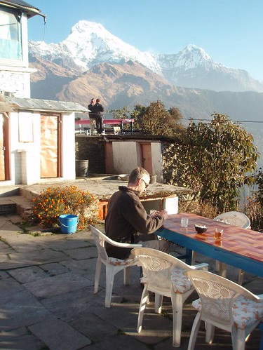 Breakfast at Fishtail View Lodge