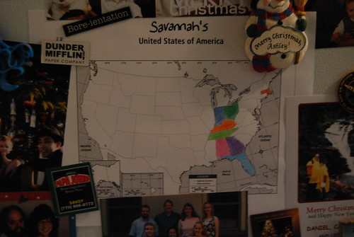Savannah's map
