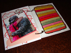 John's Book - Page 10 (Silly Panda Crafts) Tags: scrapbooking army husband gift wife valentinesday armywife coreymarie