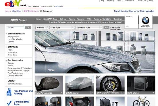 BMW on eBay