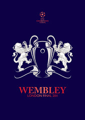 WEMBLEY London Final 2011 Logo