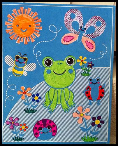 Fuzz frog