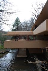 DC_20110410_1042 (CharlieBrigante) Tags: usa architecture pennsylvania franklloydwright architettura fallingwater millrun