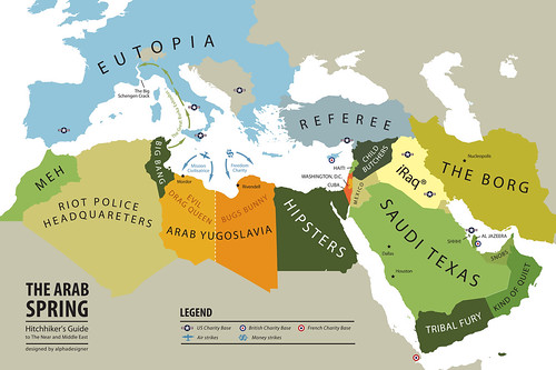 The Arab Spring, Hitchhiker's Guide to The Near and Middle East