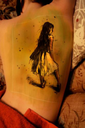 ballerina tattoos. Degas Ballerina - original