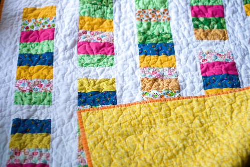 summer pop coin quilt