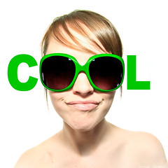143/365 May 23, 2009 (laurenlemon) Tags: portrait selfportrait green me girl sunglasses square interestingness cool text creative font 365 conceptual arial 365days explored strobist may09 canoneos5dmarkii theturntable