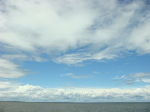Lake Pontchartrain, New Orleans.