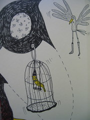 Detail (Quinn 68) Tags: pencil ink drawing quinn moleskin molyexchange
