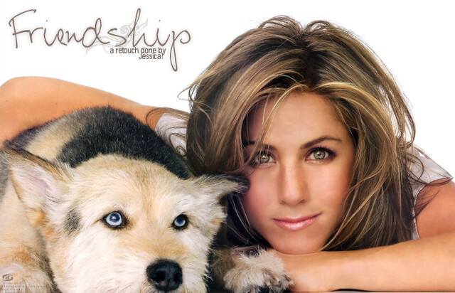 Jennifer Aniston Retouch by whiteflags