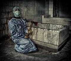 Dr. Mad works hard! (Batram) Tags: abandoned dutch insane bath friendship decay german urbanexploration infiltration tub horror sanatorium asylum frontpage hdr harz trespassing urbex batram drmad heilstätte veburbexthuringia sülzhayn