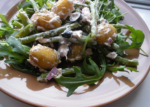 Potato, Green Bean, and Tuna Salad