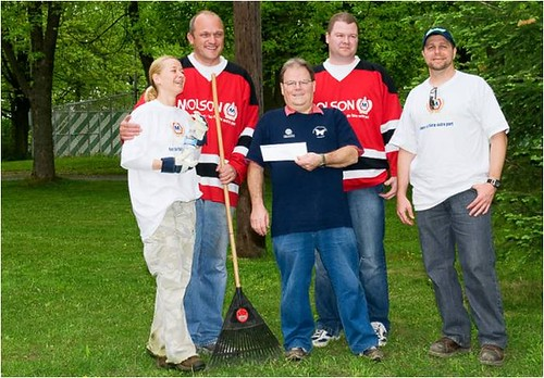 Molson Makes a Difference at Camp Les Bosquets 5