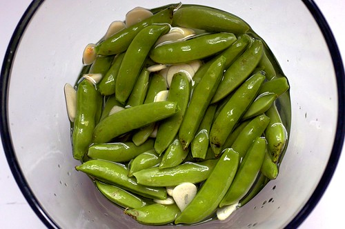 sugar snap peas, pickling
