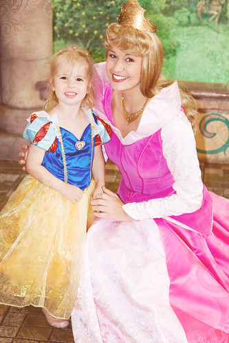 Chloe and Sleeping Beauty