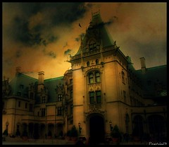 Spooky side of Biltmore-Explored (pixiesticks23) Tags: house castle texture home dark interesting scary cloudy asheville spirit ghost northcarolina stormy landmark historic haunted creepy spooky vanderbilt explore national winner haunting mansion erie biltmore acg picnik haunt movielocation bigmomma richierich explored babymomma largesthomeinamerica 61109 agcg