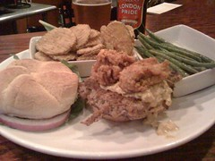 Turducken Burger at The Glenwood
