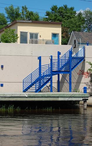 151:365 Crazy coloured dock