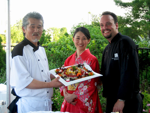 Chef Clifford Lyness and Chef Yasuda
