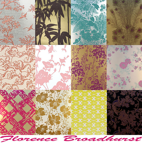florence broadhurst wallpapers. Labels: Florence Broadhurst, Signature Prints, wallpaper
