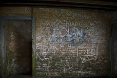 Graffiti in the bunker