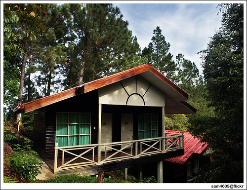 Perkasa Hotel Kundasang - House in the woods