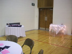 Decorating The Night Before - Beverage & Cake Tables