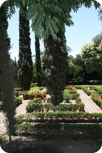 beautiful gardens at Casa Roja by you.