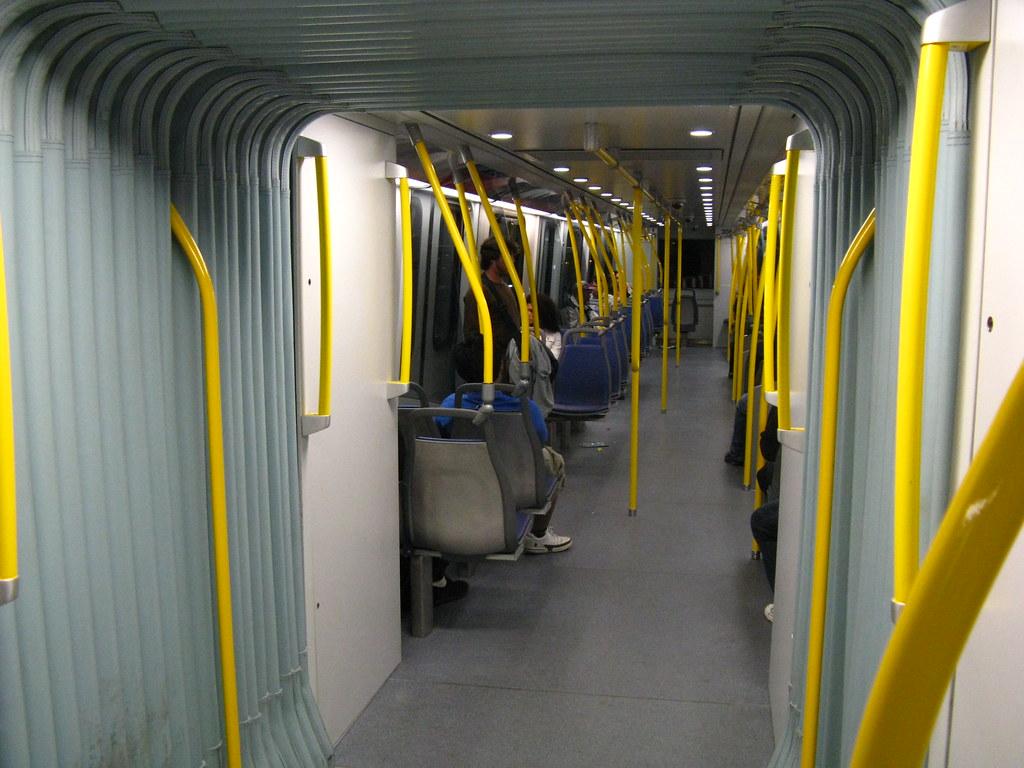 2009 SkyTrain MkII interior