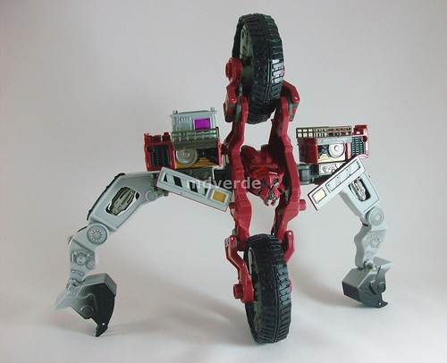 Transformers Demolishor RotF Voyager - modo robot