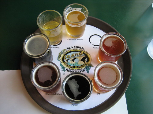 Eel River Brewery, Fortuna, CA