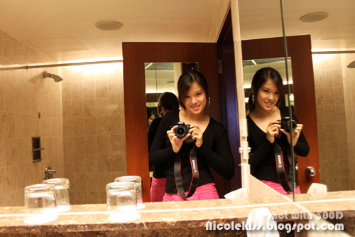 me in swissotel toilet